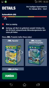 JBL Pro Scan Egebnis KH