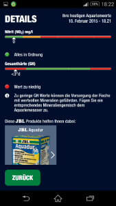 JBL Pro Scan Ergebnis NO3