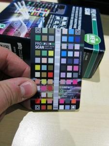 JBL Pro Scan Referenzkarte